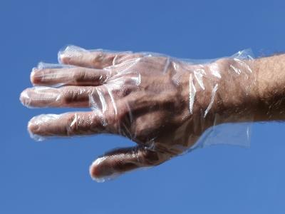 Plastic Fitting Gloves